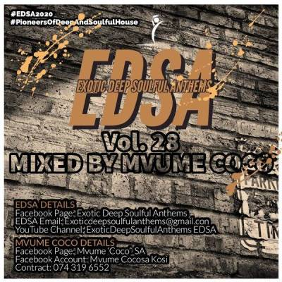 Mvume Coco – Exotic Deep Soulful Anthems Vol. 28 Mix Mp3 download