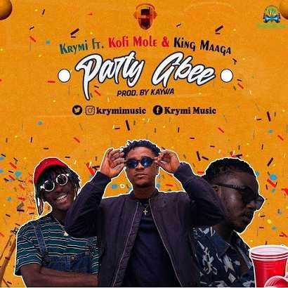 Krymi – Party Gbee Ft. Kofi Mole, King Maaga